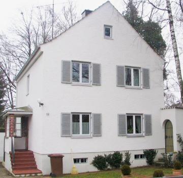 Sanierung eines Einfamilienhauses in Augsburg - Hochfeld